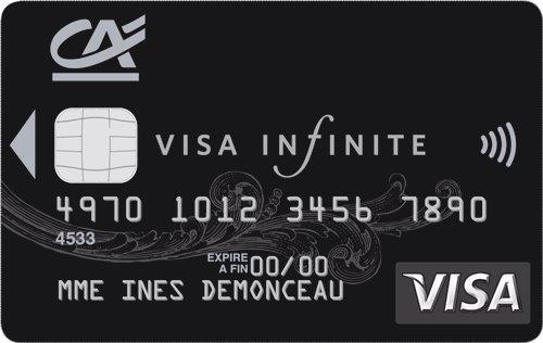 carte Visa Infinite BNP Paribas